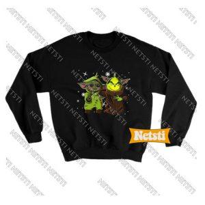 Baby Yoda Seagulls Stop It Now Chic Fashion Sweatshirt