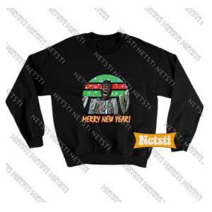 Billy Ray Valentine Merry New Year Chic Fashion Sweatshirt