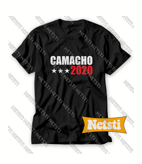 Camacho For President 2020 Idiocracy Chic Fashion T Shirt