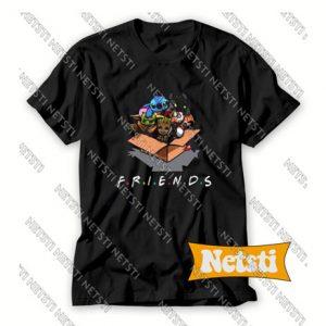 Lilo Stitch Yoda Friends Chic Fashion T Shirt