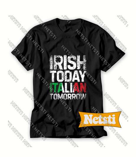 Irish Today Italian Chic Fashion T Shirt
