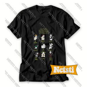 Star Wars Cat Star Paws Chic Fashion T Shirt