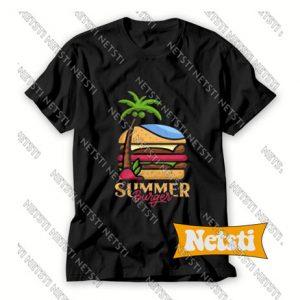 Summer Burger Chic Fashion T Shirt