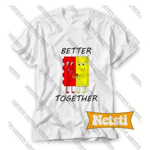Better Together Chic Fashion T Shirt