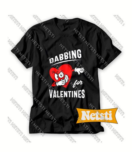 Dabbing For Valentines Chic Fashion T Shirt