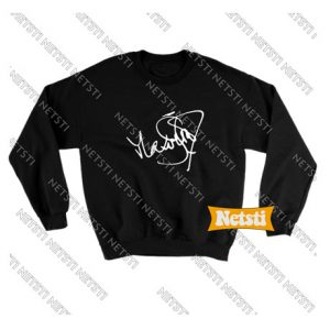 Max von Sydow signature Chic Fashion Sweatshirt