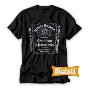 Biker-Harley-Davidson-Motorcyle-T-Shirt-For-Men-and-Women-S-3XL