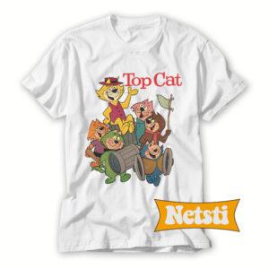 Top-Cat-Cartoon-T-Shirt-For-Women-and-Men-S-3XL