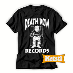 Death-Row-Record-Black-T-Shirt-For-Women-and-Men-S-3XL