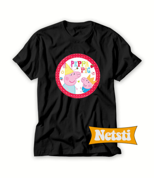 Peppa-Pig-Party-Supplies-Melbourn-T-Shirt-For-Women-and-Men-S-3XL