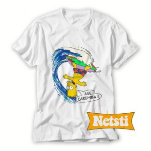 1989 bart simpson aye carumba T Shirt