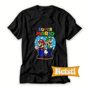 Nintendo Super Mario Luigi Brothers T Shirt