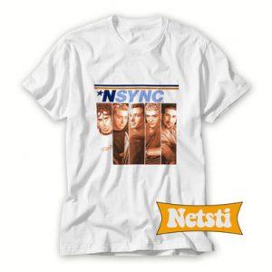 Nsync Split Photo Chic Fashion T Shirt