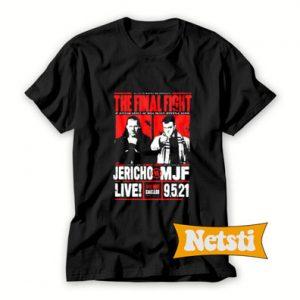 All Out 2021 Matchup Chris Jericho Vs Mjf Chic Fashion T Shirt