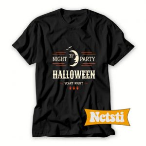 October 31st Night Party Halloween Chic Fashion T Shirt