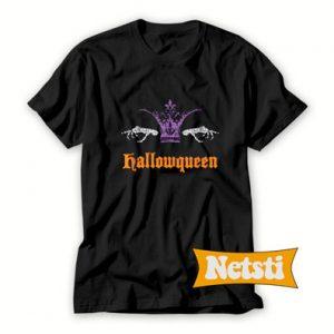 Hallowqueen Queen Halloween Chic Fashion T Shirt